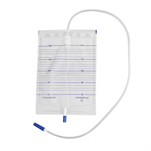 2000ml hospital medical grade pvc economic urinal bag